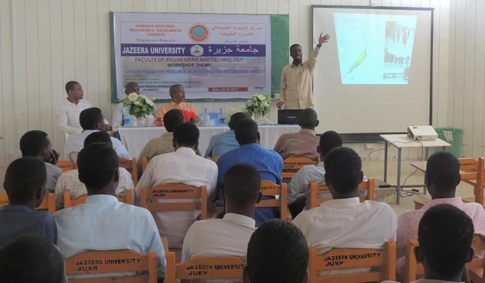 Integrated Water Resources Management for Engineering Aspects held at Jazeera University